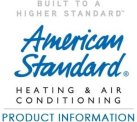 Have us repair or service your American Standard Appliance system near Littleton CO.